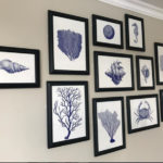 Contract Interiors group of framed prints